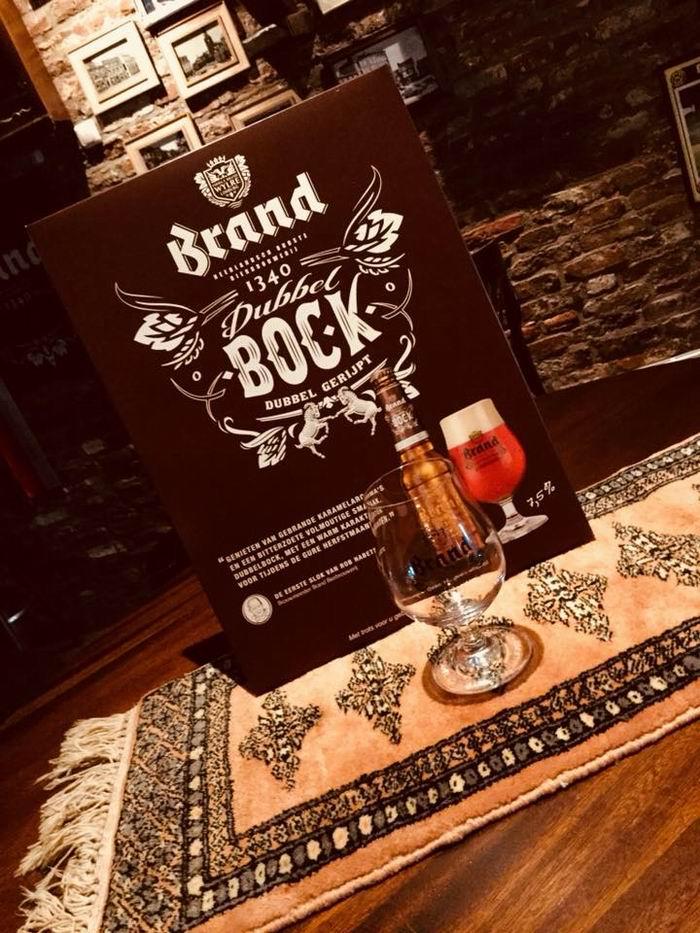 Brand Bock bier